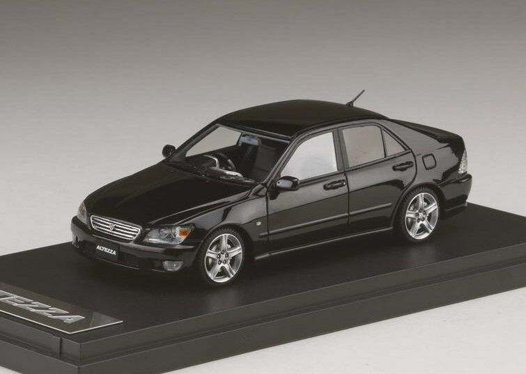 Mark 43 PM4343NBK 1 43 Toyota Altezza RS200 Super Noir Model Cars
