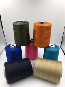 Gütermann Polyester100%-Heavy duty sewing machine thread M36 -M27 colours