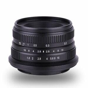 Kaxinda-25mm-f-1-8-APS-C-Manual-Focus-Lens-For-Olympus-Panasonic-m4-3-Mount