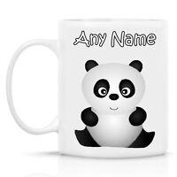 PERSONALISED PANDA DESIGN MUG - ANY NAME