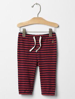 Blue Nautical Striped Sweatpants Pants GAP Baby Toddler Boy 12-18 Months Green