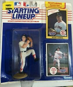 Roger Clemens 1990 MLB Starting Lineup - Boston Red Sox - 1984 RC - New Unopened