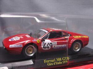 Ferrari-Collection-F1-308-GTB-Giro-1979-1-43-Scale-Mini-Car-Display-Diecast