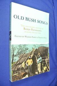 OLD-BUSH-SONGS-Warren-Fahey-BANJO-PATTERSON-COLLECTION-Australian-history-book
