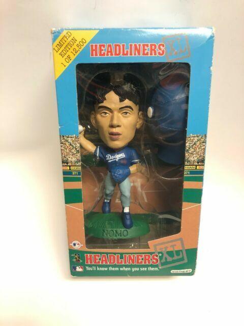 Hideo Nomo Dodgers Headliners 3/'/' Action Figure
