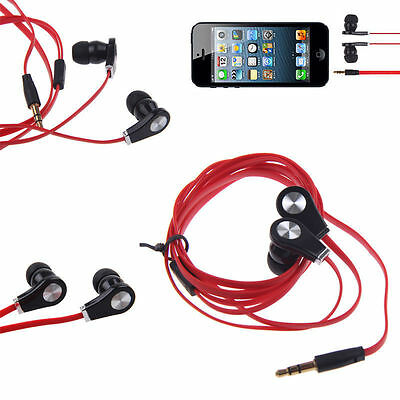 3.5mm In-Ear Earbud Earphone Headset Headphone For Cell Phone Android New