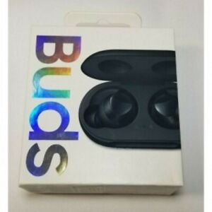 Samsung Galaxy Buds True Wireless In Ear Bluetooth Headphones Black Sm R170 2019 Ebay