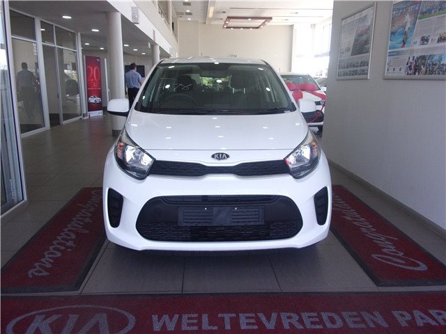 Clear White Kia Picanto 1.2 Start AT with 50km available now!