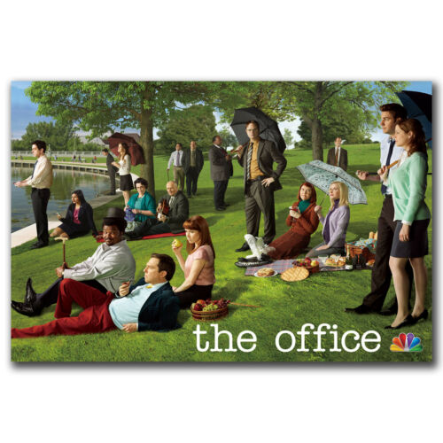 The Office TV Series Art Hot 12x18 24x36in FABRIC Poster N2810