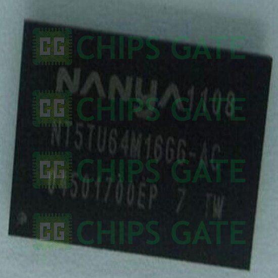 5PCS X NT5TU64M16GG-3C BGA