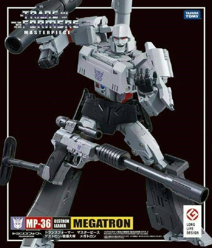 Transformers obra maestra 100% Takara Tomy MP-36 Destron líder Megatron sin usar y en caja sellada