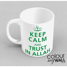 KEEP CALM and trust in Allah Islamic Mug Gift