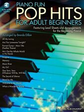 Piano Fun Pop Hits for Adult Beginners Educational Piano Book / Audio 000296897