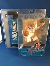 Yao Ming 2nd Edition McFarlane NBA Series 7 figure. WHITE Variant Uniform NEW