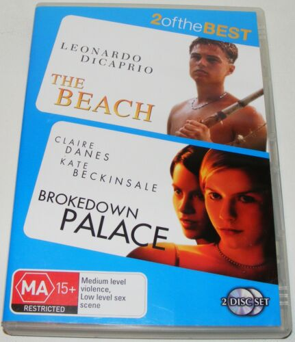 1 of 1 - THE BEACH /  BROKEDOWN PALACE---(Dvd 2 Disc Set)