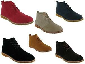 MENS-BOYS-SUEDE-LEATHER-LACE-UP-DESERT-HIGH-QUALITY-CASUAL-DESERT-BOOT-SIZE-6-12