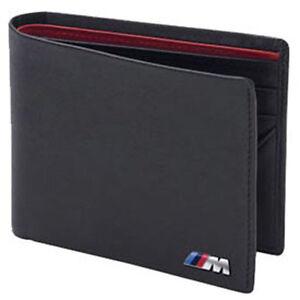BMW-M-Power-Black-Genuine-Leather-Bifold-Wallet-OEM-80210435794