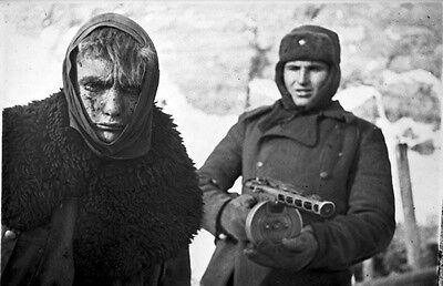 B&W WWII Photo Captured German Stalingrad Feb. 1943 WW2 World War Two Russia