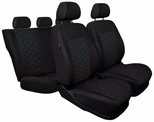 leatherette Eco leather black CAR SEAT COVERS fit Mitsubishi Outlander