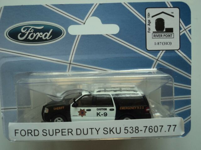 RIVER POINT FORD 2007 EXPEDITION  EL SSP SUV  EMERGENCY  RED  1//87 HO  PLASTIC