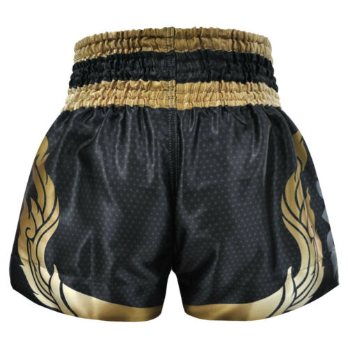 Kombat Gear Muay Thai Shorts Satin Fabric KBT-MS003-03