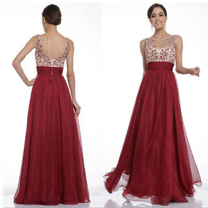Women-Bridesmaid-Evening-Gown-Formal-Party-Prom-Dress-Chiffon-Long-Maxi-Dresses