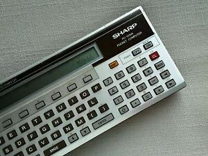 Sharp PC-1500A POCKET COMPUTER, BASIC CALCULATOR