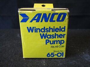 Windshield Fluid // Washer Pump 65-01 Vintage Anco NIB