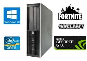 Fast-HP-Gaming-PC-Quad-Core-i5-1Tb-8GB-GTX1050-4GB-WiFi-Windows-10-Computer