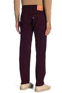 96b3147feeaaa9 Levi's Men 502 Regular Tapered Fit Pants Mulled Wine Corduroy 32 ...
