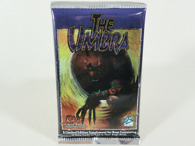 The Apolcalypse White Wolf Limited 1995 Umbra 3 Booster lot  Rage Werewolf
