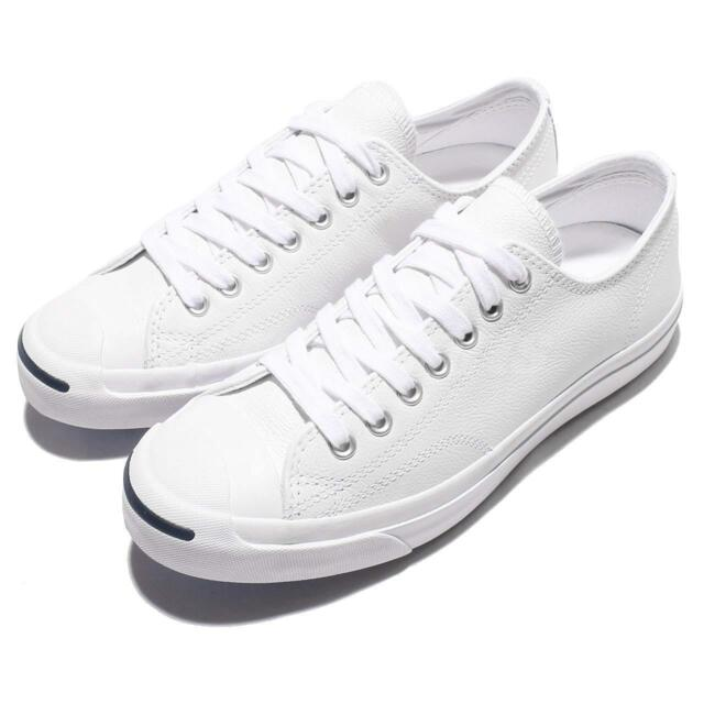 91af5a82d602 Converse Jack Purcell Leather White Men Women Classic Shoes Sneakers 1S961