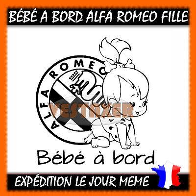 Bébé à Bord ALFA ROMEO