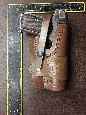 Colt Model 1903 32ACP 1908 380ACP Leather Holster Field Holster with U.S. Stamp