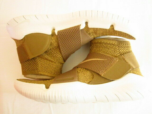Nike Free Free Free RN Motion Flyknit 2018 Men s Running shoes gold 942840 201 size 10 11 5776e8