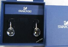Swarovski Galet Clear Crystal Pierced Earrings Clear Crystal MIB - 665159