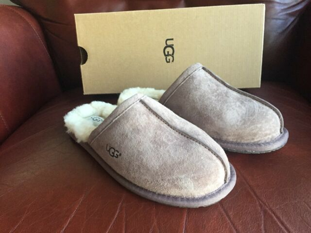 e16d0f7a948c NIB UGG Pearle Suede Shearling Fur Shoes Slippers  1011229 Stormy Grey Sz 6