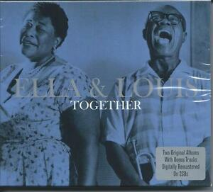 Ella-Fitzgerald-amp-Louis-Armstrong-Together-2CD-NEW-SEALED