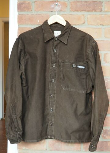 6876 Brown Corduroy Overshirt from late 90s