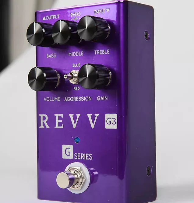 Revv G3 Distortion pedal, Brand New in Box  In Stock Now  Free 2-3 Shipping U.S.