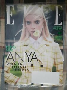 ELLE Magazine May 2021 Issue ANYA TAYLOR-JOY Queen of the Screen - Rising Star