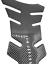 Adesivo-Proteggi-Serbatoio-Moto-Paraserbatoio-effetto-Carbonio-nero-20x13x10cm miniatuur 2