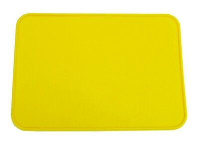 Old School BMX Style Neal Oval Number Plate Yellow /& Numbers Set