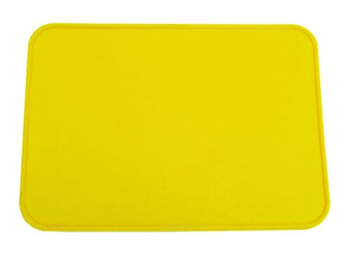 Old School BMX Style Neal Rectangle Number Plate Yellow /& Numbers Set