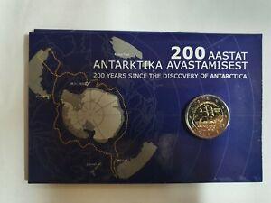 Coincard-Estland-2020-mit-2-Euro-Gedenkmuenze-034-Antarktis-034-BU
