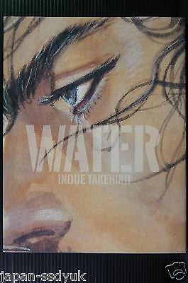 """Art Book /""""WATER/"""" JAPAN Takehiko Inoue Vagabond, slam dunk Artist"""