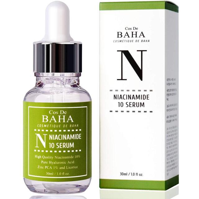 Vitamin B3 Facial Serum Niacinamide 10% Zinc 1% Pore Minimizer Skin Tone Balance