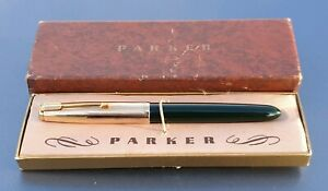 14K GOLD NEW PARKER 51  NIB MEDIUM UNUSED