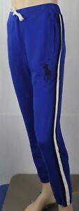Polo Ralph Lauren Youth Royal Blue Fleece Sweatpants Big Black Pony NWT