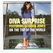 (FW936) Diva Surprise ft Georgia Jones, On The Top Of The World - 1998 DJ CD